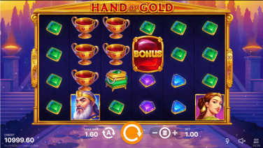 Hand of Gold Theme & Graphics