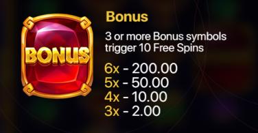 Hand of Gold bonus symbol