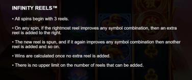 Royal Dragon Infinity Reels- Infinity Reels