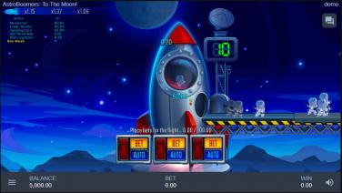 AstroBoomers: To The Moon! Theme & Graphics