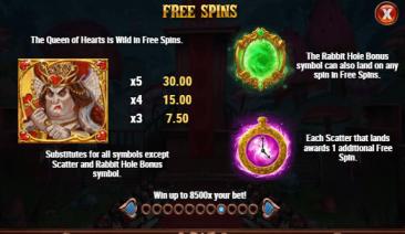 Court of Hearts Wild Bonus Scatter