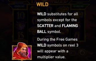 Fire Blaze Red Wizard Wild