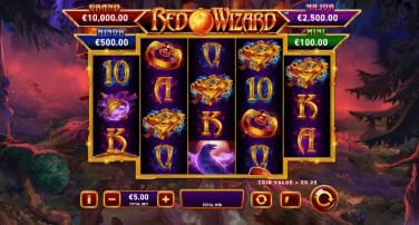 Fire Blaze Red Wizard Theme & Graphics