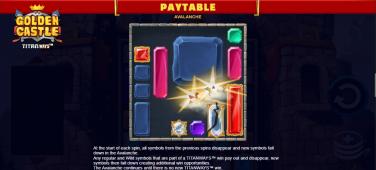 Golden Castle Bonus Features