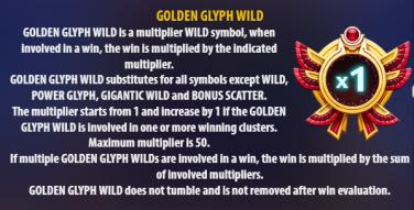Golden Glyph 2 Wild