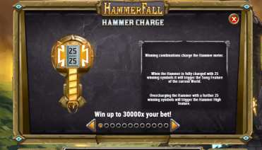 HammerFall Hammer Charge Feature