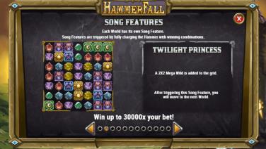 HammerFall Song Features
