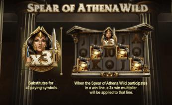 Legend of Athena Spear of Athena Wild