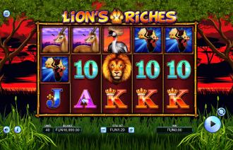 Lion's Riches Theme & Graphics