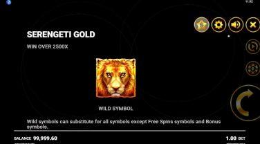 Serengeti Gold Wild