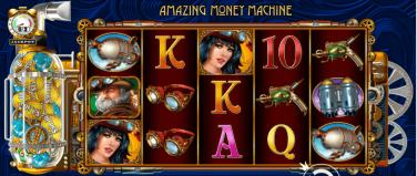 The Amazing Money Machine Theme & Graphics