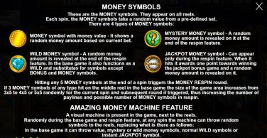 The Amazing Money Machine Money Symbols