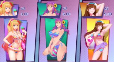 Candy Island Princess Symbols