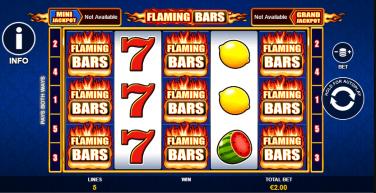Flaming Bars Theme & Graphics