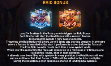 Piggy Bjorn Raid Bonus