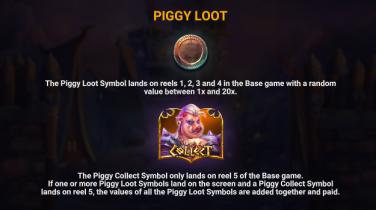 Piggy Bjorn The Piggy Loot symbol