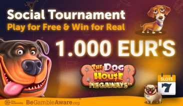 Play Dog House Megaways for Free and Win a Share of €1000 – Best Social Tournament