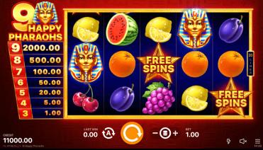 9 Happy Pharaohs Theme & Graphics