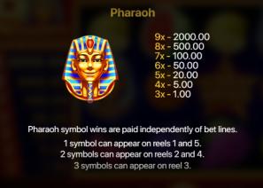 9 Happy Pharaohs Symbols