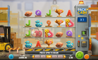 Pack and Cash Theme & Graphics