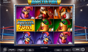 Rooster Fury Theme & Graphics