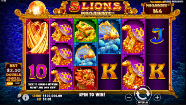5 Lions Theme & Graphics