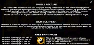 5 Lions Bonus Features