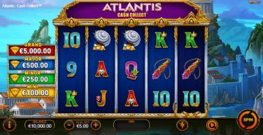 Atlantis Cash Collect Theme & Graphics