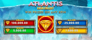 Atlantis Cash Collect Jackpots