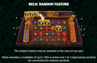 Aztec Ascent Relic Random Feature