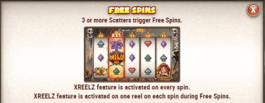 Charlie Chance XReelZ Free Spins