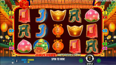 Dragon Hot Hold and Spin Theme & Graphics
