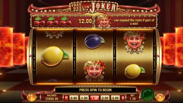 Free Reelin' Joker Theme & Graphics