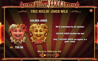 Free Reelin' Joker Wild