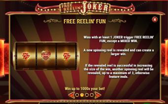Free Reelin' Joker Fun Feature