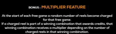 Legends of Troy - The Siege Multiplier feature