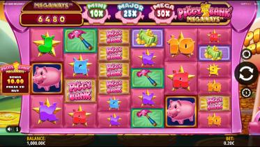 Piggy Bank Megaways Theme & Graphics