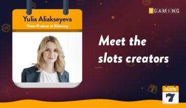 Meet the Slots Creators – BGaming's Yulia Aliakseyeva Interview