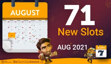 New Slots Games » August 2021