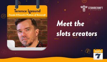 Meet the Slots Creators – StormCraft Studio's Terence Igesund Interview