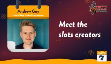Meet the Slots Creators – Buck Stakes Studios's Andrew Guy Interview