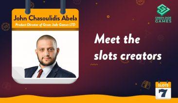 Meet the Slots Creators – Green Jade Games's John Chasoulidis Abela Interview